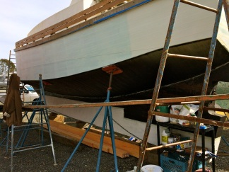Second Coat on the Port Side